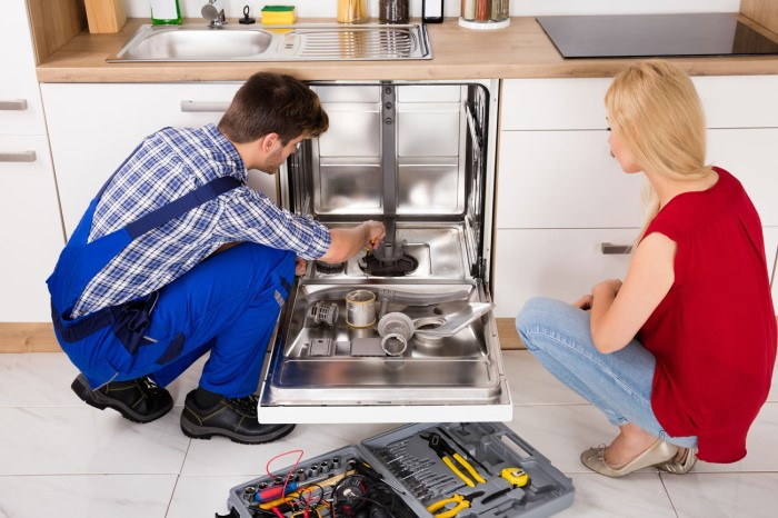 appliance repair west park